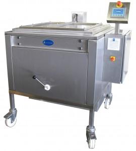 200 Liter Thermoöl Cremekocher mit Touch-Panel Steuerung