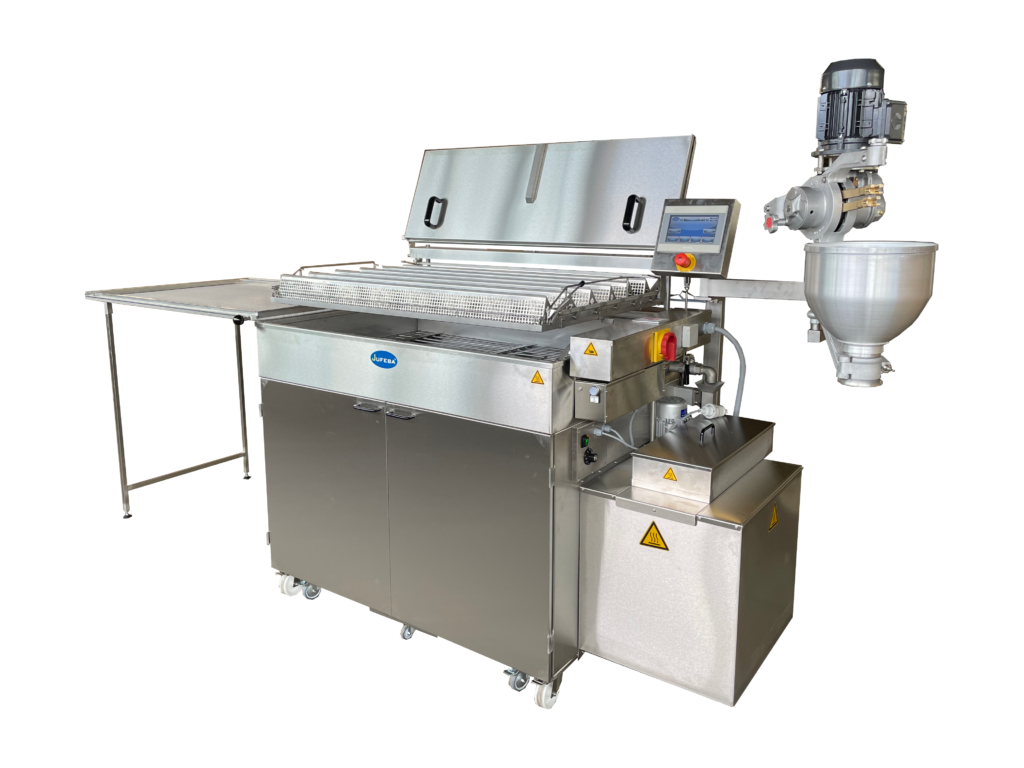 Type WW2-GW X20 AT with optional oil filter system and optional liquid dough machine